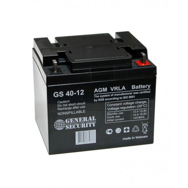 Аккумулятор General Security 12V 40Ah GS 40-12