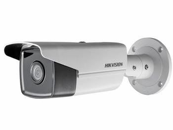 Цилиндрическая IP-видеокамера Hikvision DS-2CD2T23G0-I5 (8mm) с ИК-подсветкой до 50м