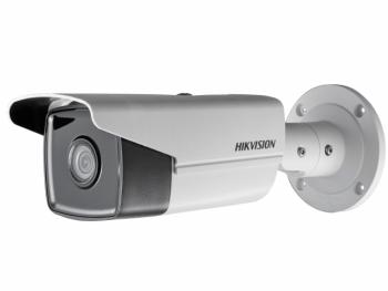 Цилиндрическая IP-видеокамера Hikvision DS-2CD2T23G0-I8 (4mm) 2Мп с EXIR-подсветкой до 80м
