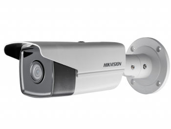 Цилиндрическая IP-видеокамера Hikvision DS-2CD2T23G0-I8 (6mm) 2Мп с EXIR-подсветкой до 80м