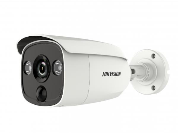 Цилиндрическая HD-TVI видеокамера Hikvision DS-2CE12D8T-PIRL (2.8mm) с EXIR-подсветкой до 20м