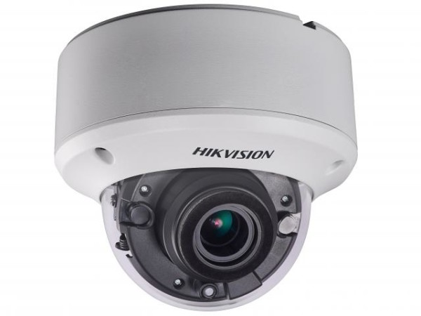 Купольная HD-TVI камера Hikvision DS-2CE56D8T-VPIT3ZE (2.8-12 mm) с EXIR-подсветкой до 40м