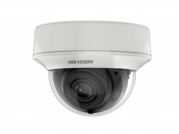 Уличная купольная HD-TVI видеокамера Hikvision DS-2CE56H8T-AITZF с EXIR-подсветкой до 60м