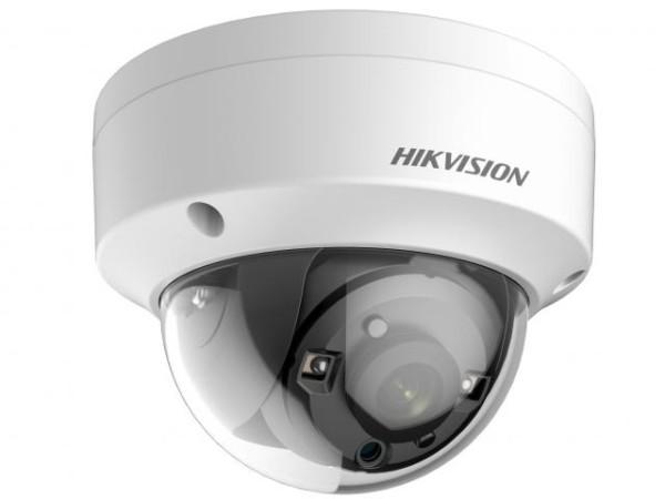 Купольная HD-TVI видеокамера Hikvision DS-2CE57U8T-VPIT (3.6mm) 8Мп с EXIR-подсветкой до 40м