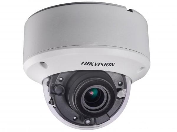 Купольная HD-TVI видеокамера Hikvision DS-2CE59U8T-VPIT3Z (2.8-12 mm) 8Мп с EXIR-подсветкой до 60м