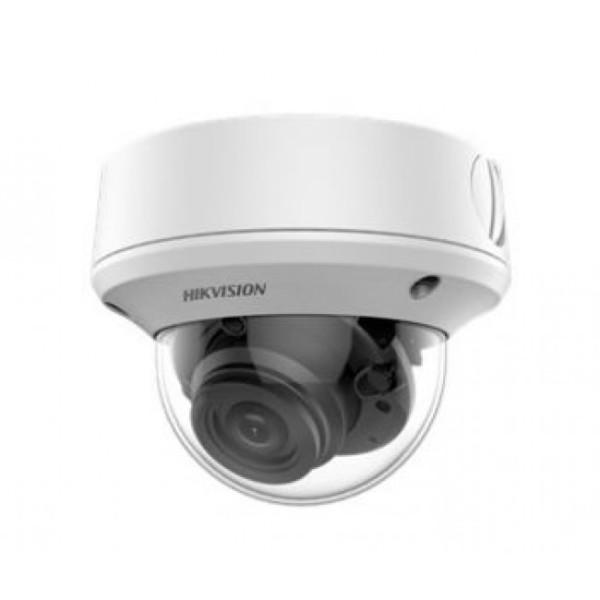 Купольная HD-TVI видеокамера Hikvision DS-2CE5AD3T-VPIT3ZF (2.7-13.5mm) с EXIR-подсветкой до 70м