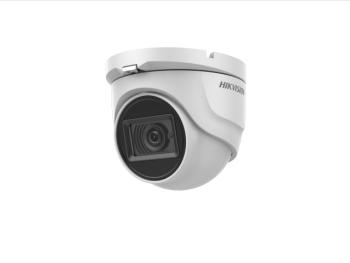 Купольная HD-TVI видеокамера Hikvision DS-2CE76H8T-ITMF (2.8mm) 5Мп с EXIR-подсветкой до 60м
