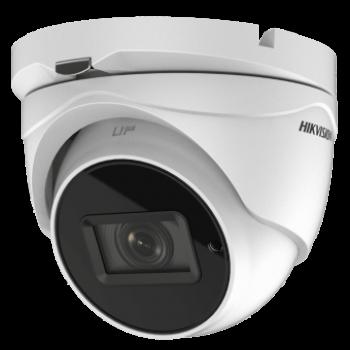 Купольная HD-TVI видеокамера DS-2CE79U8T-IT3Z (2.8-12 mm) Hikvision 8Мп с EXIR-подсветкой до 80м