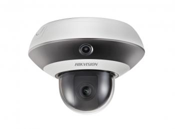 Панорамная IP-видеокамера Hikvision DS-2PT3122IZ-DE3 (2.8-12mm) с 2Мп PTZ-модулем и ИК-подсветкой до 10м