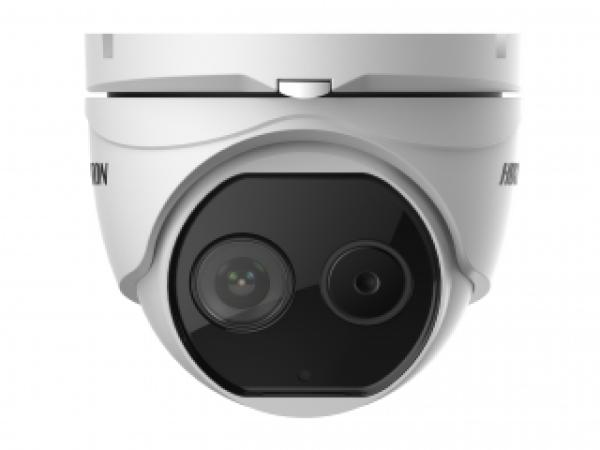 Двухспектральная IP-видеокамера DS-2TD1217-2/V1 Hikvision с алгоритмом Deep learning