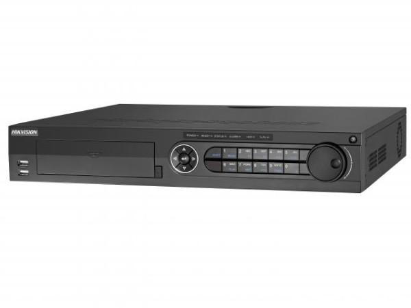 24-х канальный гибридный HD-TVI видеорегистратор Hikvision DS-8124HQHI-K8