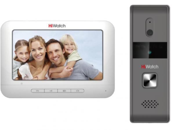 Комплект аналогового видеодомофона HiWatch DS-D100KF