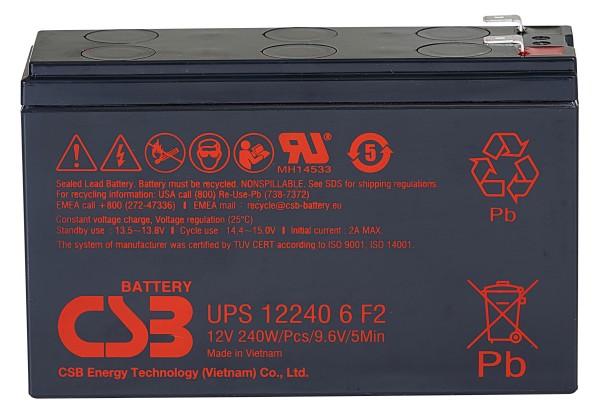 Аккумулятор CSB 12V 5Ah UPS122406