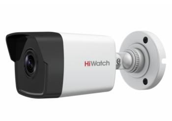 Цилиндрическая IP-видеокамера HiWatch DS-I200(C) (4 mm) с EXIR-подсветкой до 30м