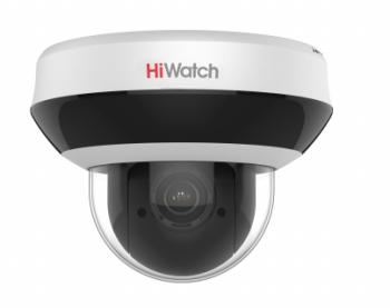 Поворотная IP-видеокамера HiWatch DS-I205M c EXIR-подсветкой до 20м и встроенным микрофоном