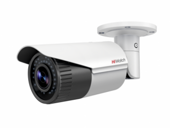 Цилиндрическая IP-видеокамера HiWatch DS-I206 (2.8-12 mm) с ИК-подсветкой до 30 м