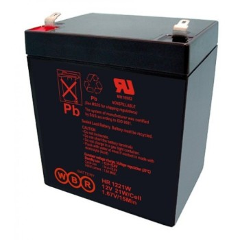 Аккумулятор WBR 12V 5Ah HR1221W 21W