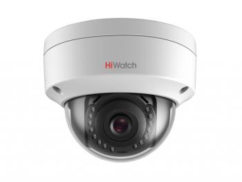 Купольная мини IP-видеокамера HiWatch DS-I252 (2.8 mm) с ИК-подсветкой до 30м
