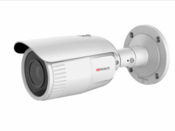 Цилиндрическая IP-видеокамера HiWatch DS-I256 (2.8-12 mm) с ИК-подсветкой до 30м
