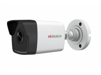 Цилиндрическая IP-видеокамера HiWatch DS-I400 (B) (2.8 mm) с EXIRподсветкой до 30м