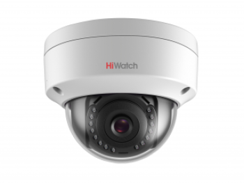 Купольная мини IP-видеокамера HiWatch DS-I452 (2.8 mm) 4Мп с EXIR-подсветкой до 30м