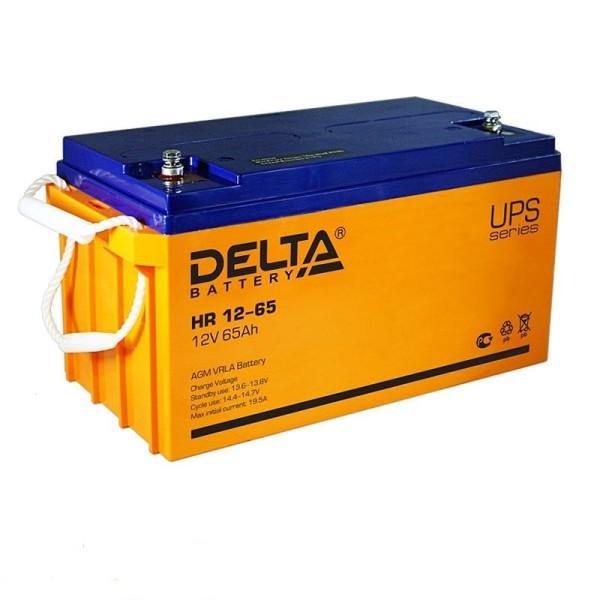 Аккумулятор Delta 12V 65Ah HR 12-65 / HR 12-65 L