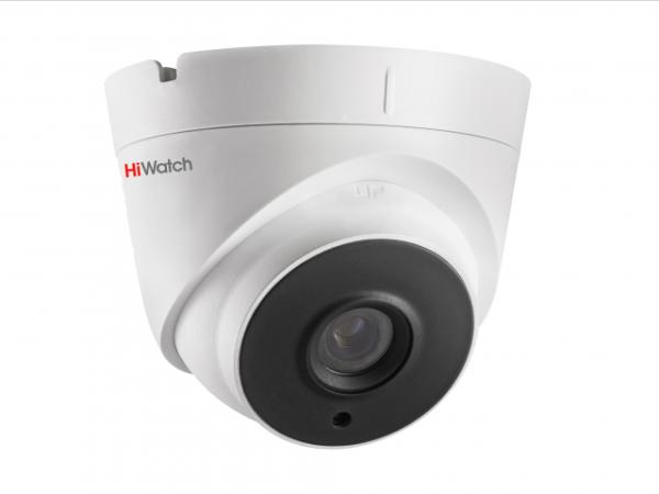 Купольная IP-видеокамера HiWatch DS-I453 (2.8 mm) с EXIR-подсветкой до 30м