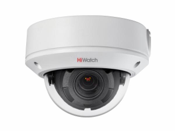 Купольная IP-видеокамера HiWatch DS-I458 (2.8-12 mm) 4Мп с EXIR-подсветкой до 30м