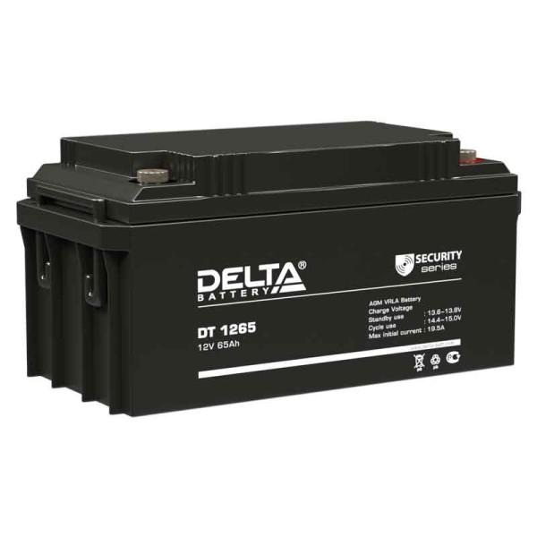 Аккумулятор Delta 12V 65Ah DT 1265