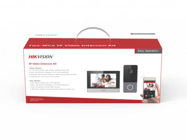 IP-комплект видеодомофонии Hikvision DS-KIS603-P