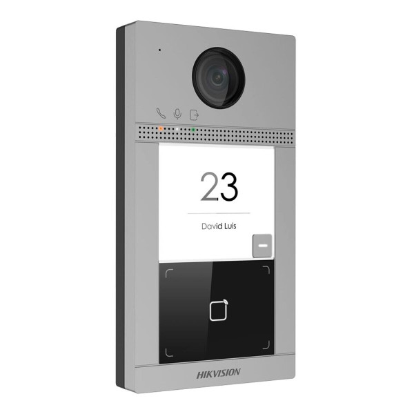 Вызывная панель IP-видеодомофона Hikvision DS-KV8113-WME1/Flush