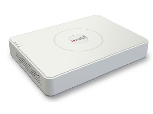 8-канальный IP-видеорегистратор HiWatch DS-N208P(B) c PoE