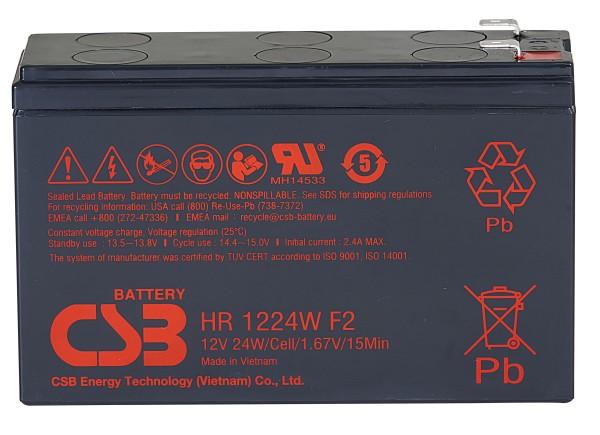 Аккумулятор CSB 12V 6Ah HR1224W