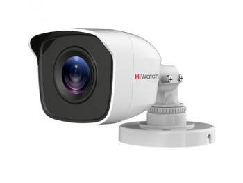 Цилиндрическая HD-TVI видеокамера HiWatch DS-T200 (B) (2.8 mm) EXIR-подсветкой до 20м