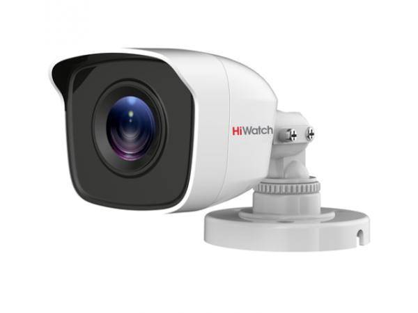 Цилиндрическая HD-TVI видеокамера HiWatch DS-T200 (B) (3.6) с EXIR-подсветкой до 20м