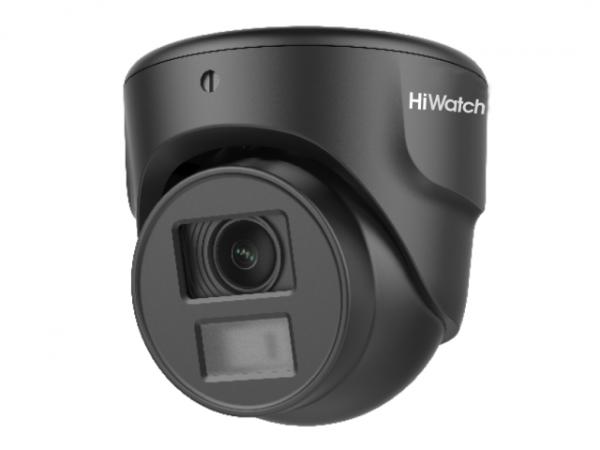 Миниатюрная купольная HD-TVI видеокамера HiWatch DS-T203N (2.8 mm) с EXIR-подсветкой до 20 м