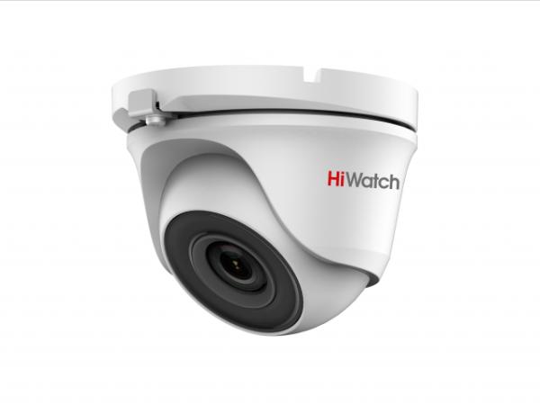 Купольная HD-TVI видеокамера HiWatch DS-T203S (2.8 mm) с EXIR-подсветкой до 30 м