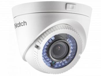 Купольная HD-TVI видеокамера HiWatch DS-T209P (2.8-12 mm) с ИК-подсветкой до 40м