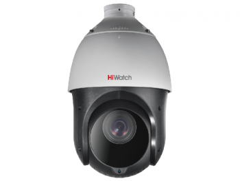 Скоростная поворотная HD-TVI видеокамера HiWatch DS-T215(B) с ИК-подсветкой до 100м