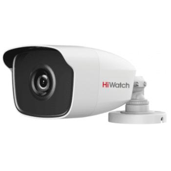 Цилиндрическая HD-TVI видеокамера HiWatch DS-T220 (6 mm) с EXIR-подсветкой до 40м
