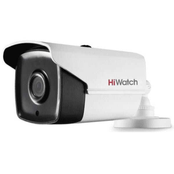 Цилиндрическая HD-TVI видеокамера HiWatch DS-T220S (B) (3.6 mm) с EXIR-подсветкой до 50м
