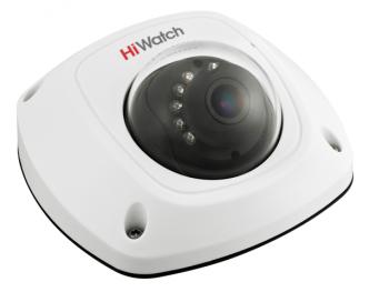 Купольная HD-TVI видеокамера HiWatch DS-T251 (2.8 mm) с ИК-подсветкой до 20м