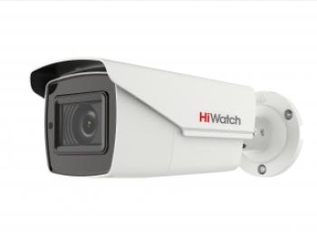 Цилиндрическая HD-TVI видеокамера HiWatch DS-T506 (C) (2.7-13.5 mm) 5Мп с ИК-подсветкой до 40м