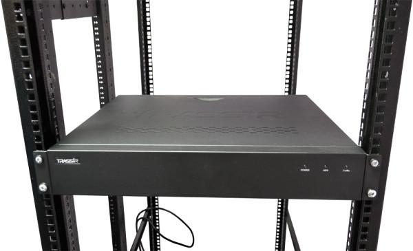 IP-видеорегистратор на 32 канала с 16 управляемыми PoE портами – TRASSIR DuoStation AnyIP 32-16P
