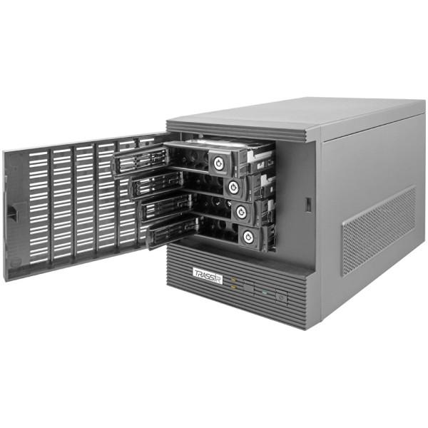 32-канальный гибридный видеорегистратор TRASSIR DuoStation Hybrid 32 с поддержкой аналоговых камер