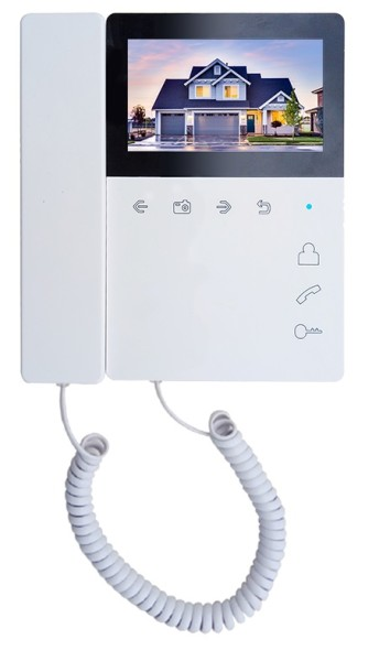 Монитор видеодомофона Tantos Elly-S с трубкой