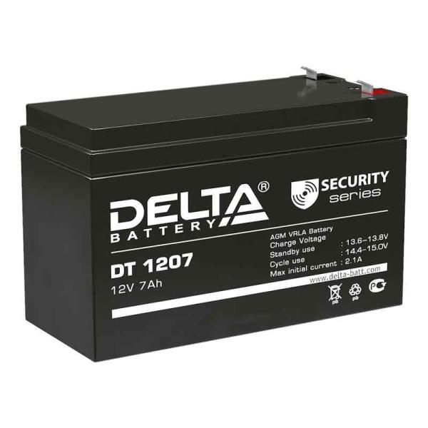 Аккумулятор Delta 12V 7Ah DT 1207