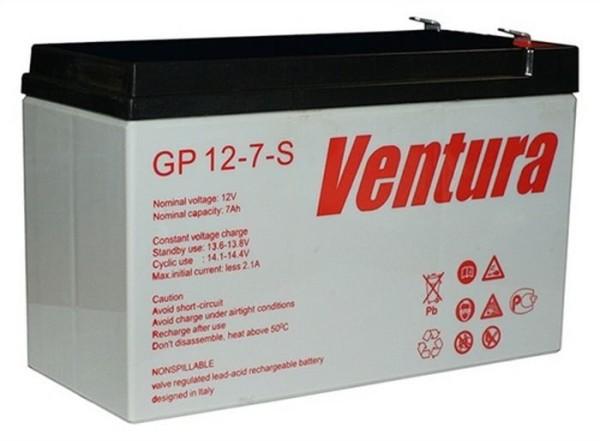 Аккумулятор Ventura 12V 7Ah GP 12-7-S