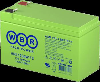 Аккумулятор WBR 12V 9Ah HRL1234W