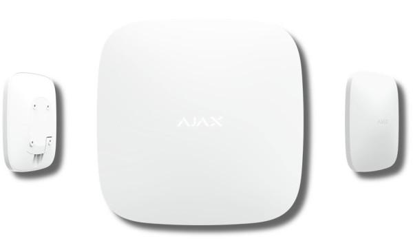 Интеллектуальная централь Ajax Hub Plus white